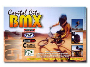 BMX Front Side – Postcard Design