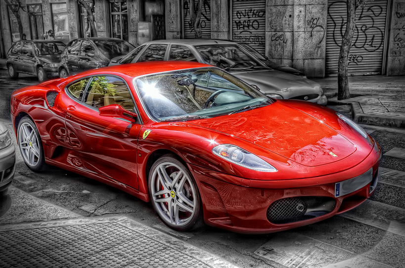 Ferrari – Color Spotting