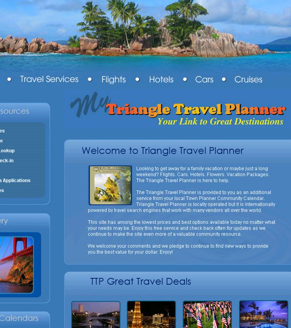 Triangle Travel Planner