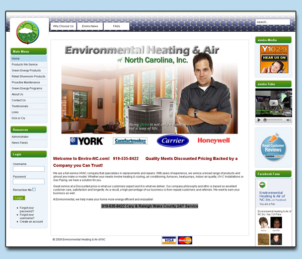 Environmental Heating & Air