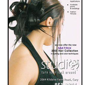 Studio 180 Salon – Print Ad Layout