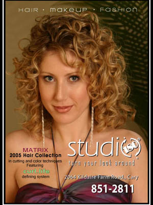 Studio 180 Salon – Print Ad Layout 2